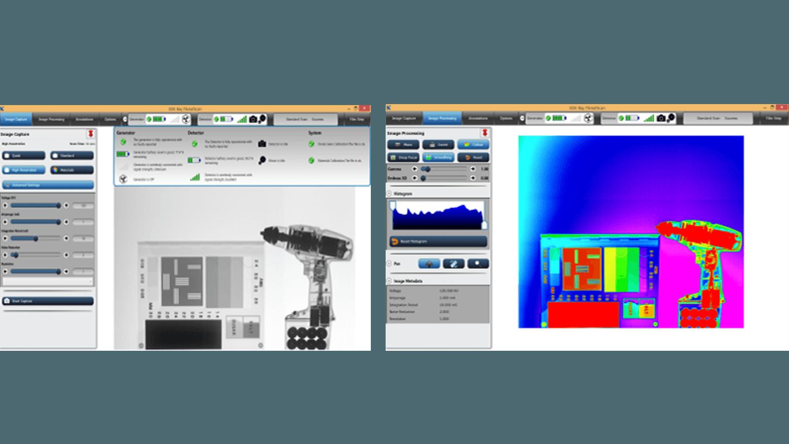 Портативные сканеры 3DXRAY - программа