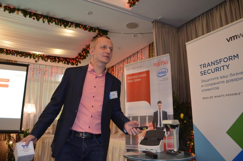 Владимир Яковлев, Fujitsu, системы хранения данных