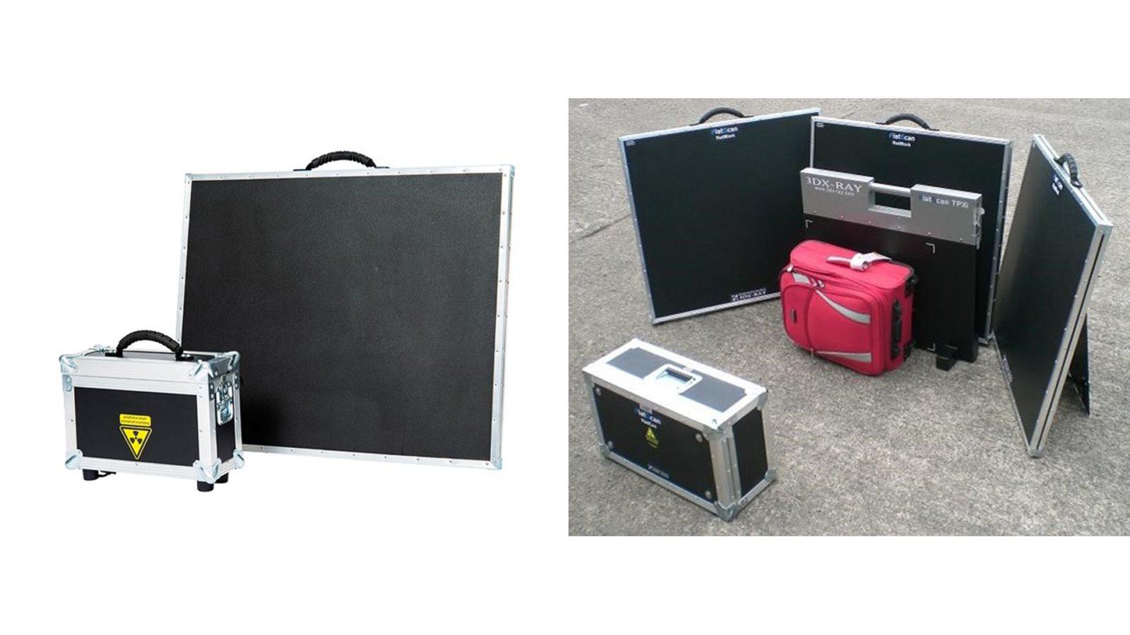 Портативные сканеры 3dxray - защитные панели