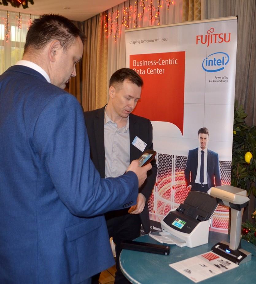 PFU Fujitsu на конференции итц-м
