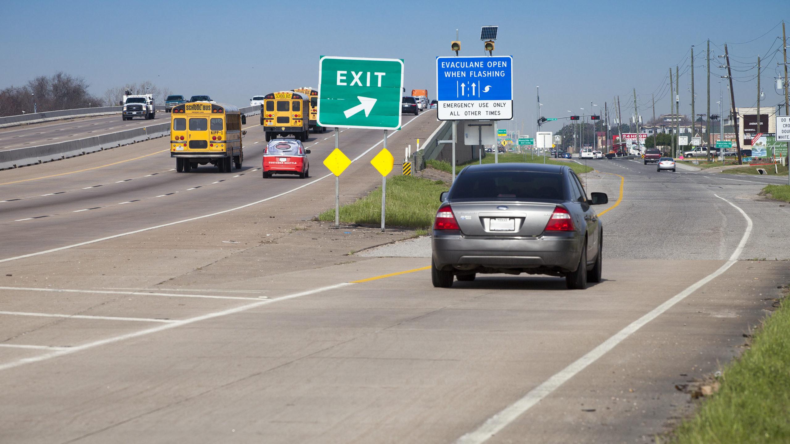 Адаптивная система для движения по автомагистралям