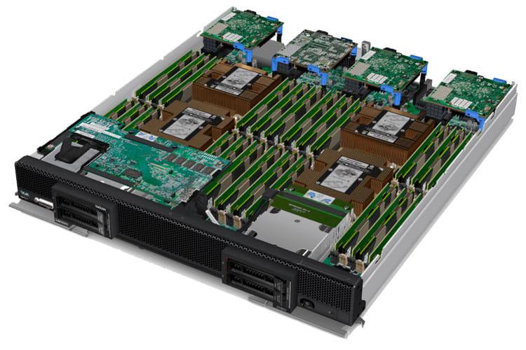 Блейд сервер Lenovo