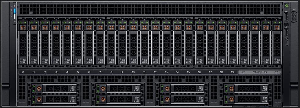 R940xa — мощный четырехпроцессорный стоечный сервер