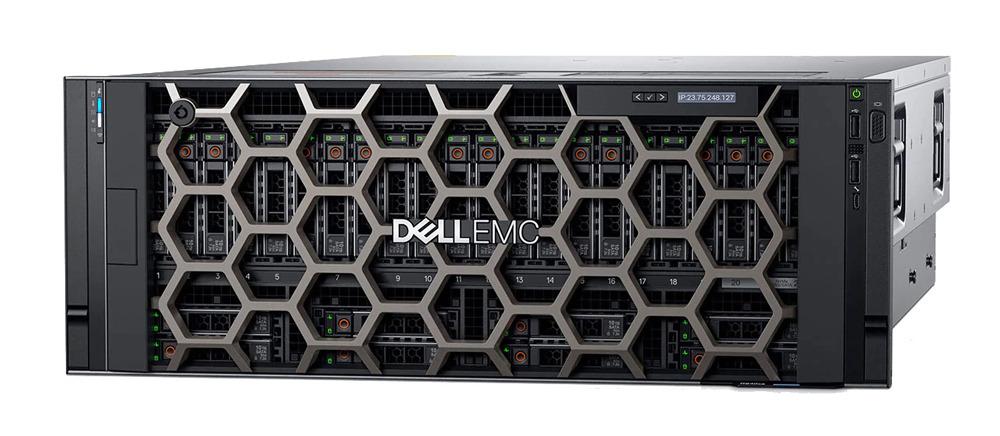 Dell EMC PowerEdge R940xa вид спереди