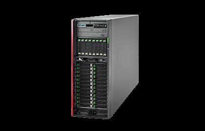 Двухпроцессорный сервер Fujitsu PRIMERGY TX2550 M5