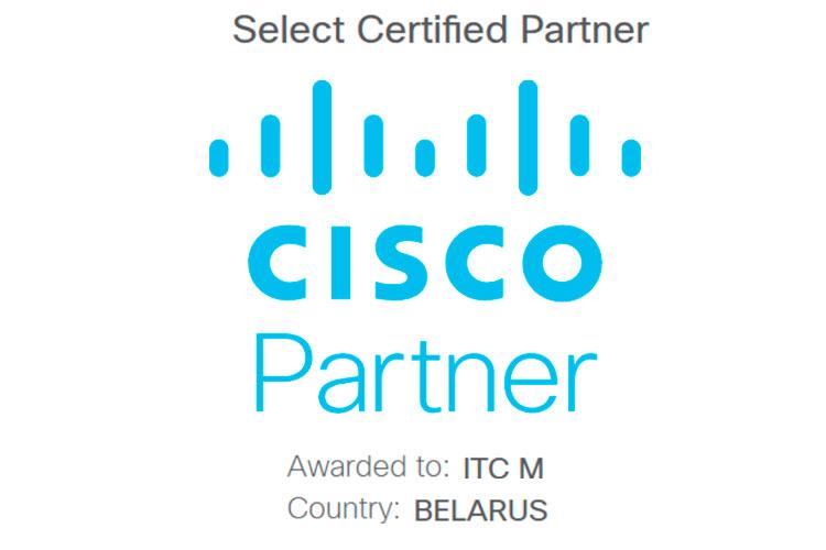 ИТЦ-М получил партнерский сертификат уровня Select от Cisco