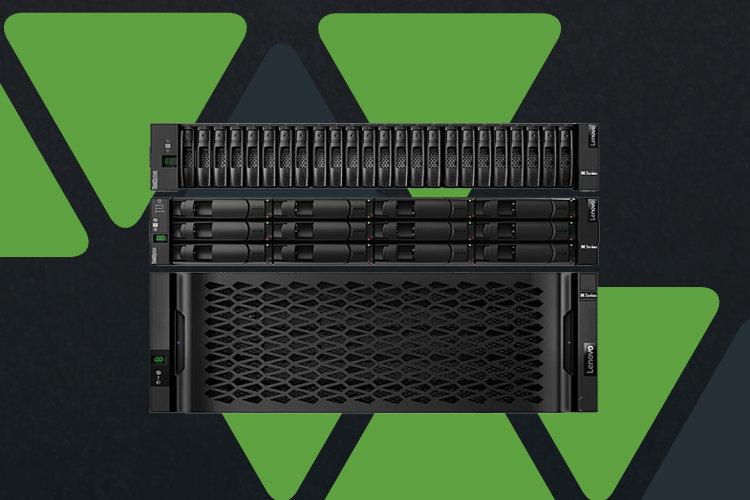 All-flash и гибридные системы хранения серии ThinkSystem DE