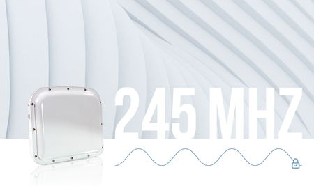 Радиолокационный детектор с полосой пропускания 245 МГц