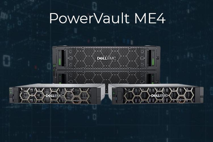 Гибридная СХД DELL PowerVault ME4