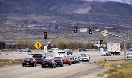 Система дозирования въезда на автомагистрали
